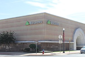 Lufkin, Texas - Regions Bank