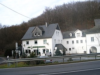 Leiningen, Germany - Schloß Reifentahl inn