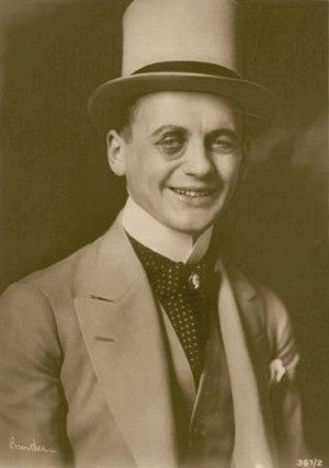 Reinhold Schünzel - Reinhold Schünzel in 1921