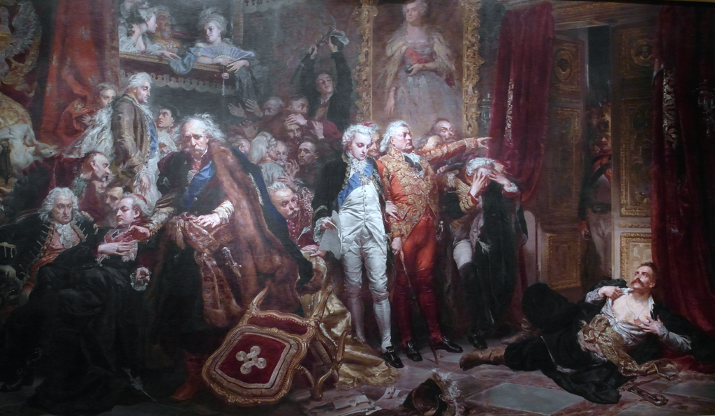 Rejtan na Sejmie 1773 roku