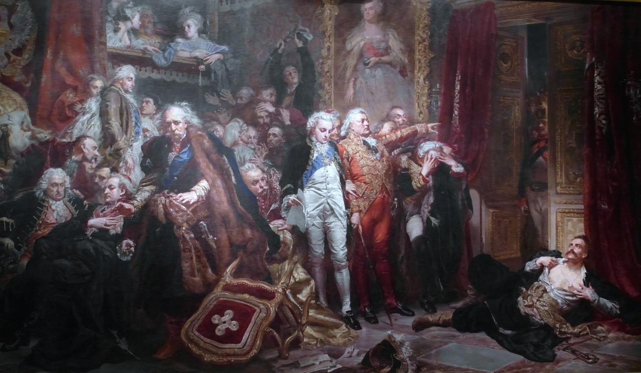 Agenda : Ca s'est passé en juin ! 1280px-Rejtan_at_Sejm_of_1773_by_Jan_Matejko%2C_1866