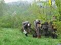 Rekonstrukcja bitwy gorlickiej - armata.jpg