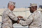 Relief and Appointment, CLR-2 welcomes Marines, sergeant major 130725-M-KS710-053.jpg