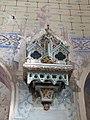 Reliquaire en bois peint (église de Vieux).jpg