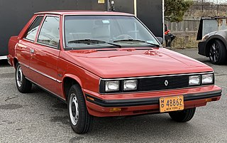 American built version of Renault 9