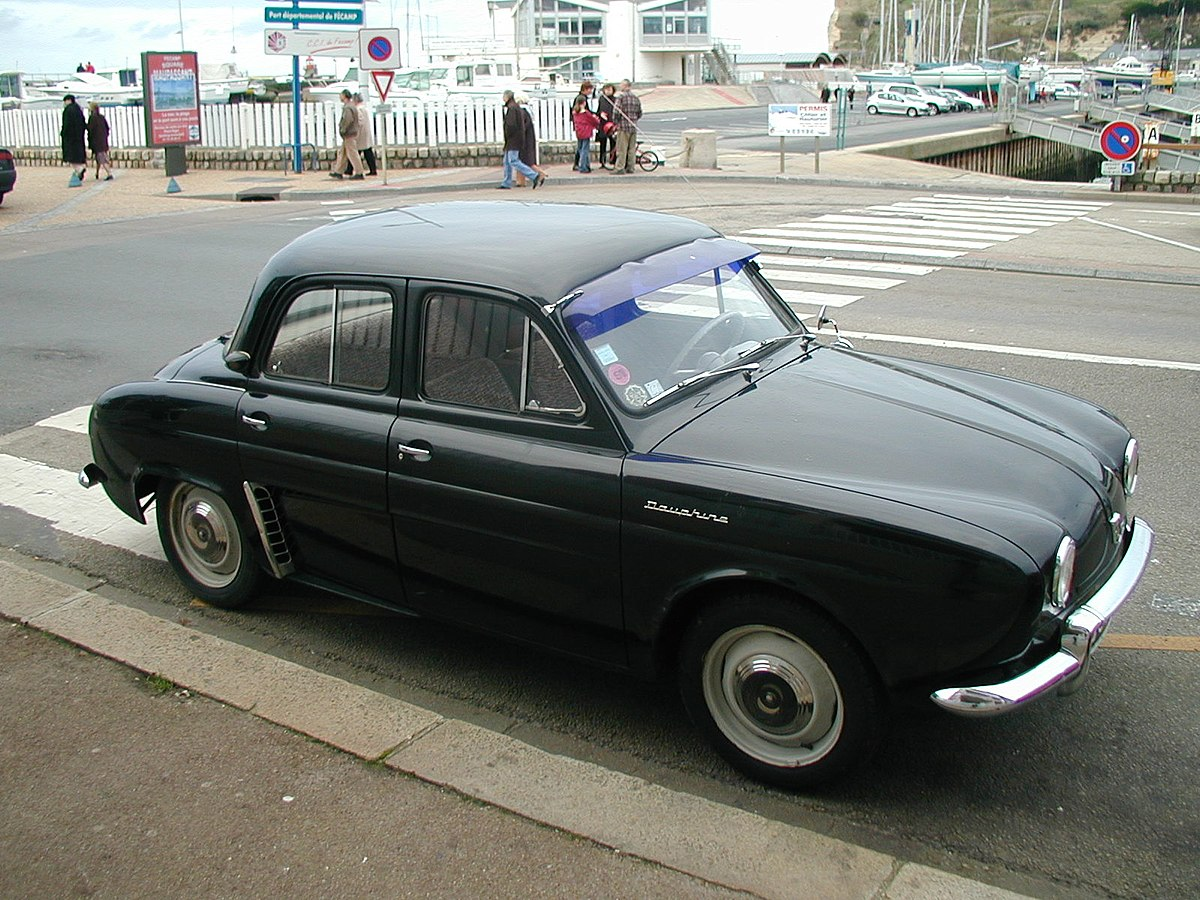 J And L Auto >> Renault Dauphine - Wikipedia