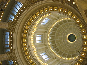 Idaho State Capitol - Renovated capitol dome