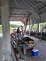 Repairing Bradley Covered Bridge Center Street Lyndonville VT August 2019 04.jpg