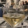 Restaurant Côté Gare (Beynost) - verre de vin Pouilly Fuissé.jpg