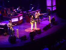 Restless Heart performing at the Grand Ole Opry on August 9, 2014.
