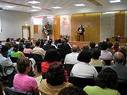 Reunião em Salão do Reino