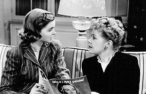 Dorothy McGuire - Dorothy McGuire and Spring Byington in the short film Reward Unlimited (1944)