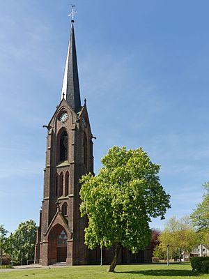 Rheurdt - Image: Rheurdt, Pfarrkirche Sankt Nikolaus Dm 38 foto 12 2016 05 05 11.19