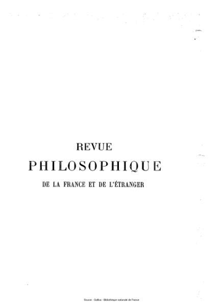 File:Ribot - Revue philosophique de la France et de l'étranger, tome 64.djvu