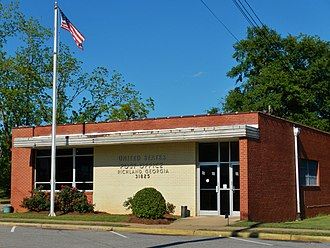 Richland, Georgia - Image: Richland, GA Post Office (31825)