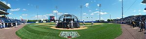 Richmond County Bank Ballpark - Image: Richmond County Bank Ballpark panorama