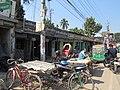 Rickshaw, van in Rajganj bazar, Cumilla 10.jpg