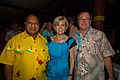Rimbink Pato, Julia Bishop and Murray McCully August 2014.jpg