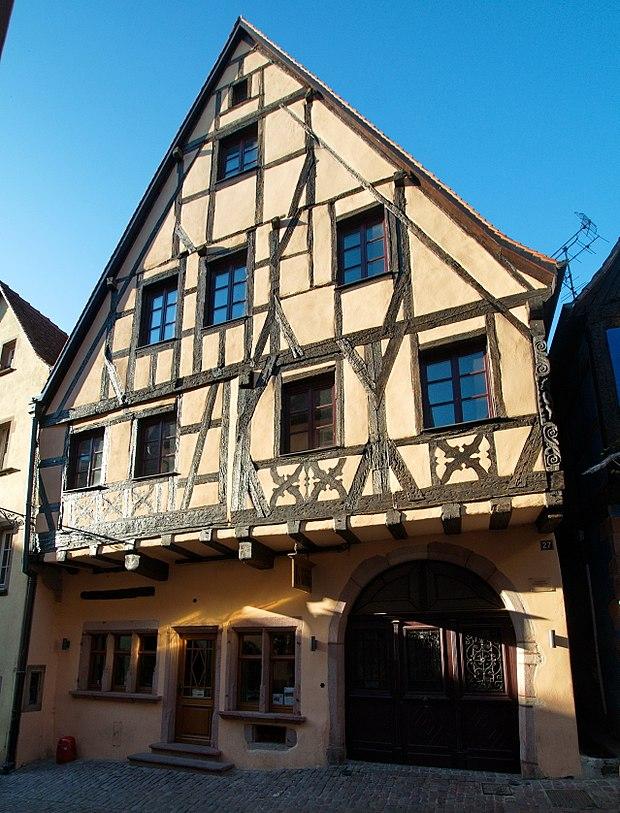 Monument historique à Riquewihr