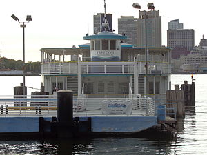 RiverLink Ferry - Image: River Link Ferry Camden 2