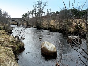 River Brora and the bridge at Dalreavoch - geograph.org.uk - 1771358.jpg