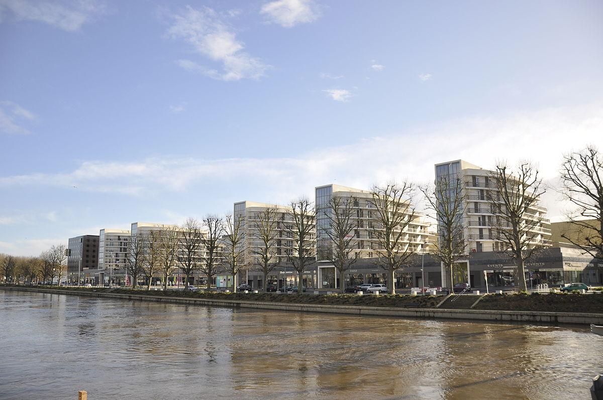 Quartier des rives de l 39 orne wikip dia - Rives de l orne magasins ...