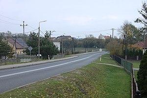 Gmina Strzelce Opolskie - Road in Rożniątów