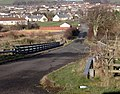 Road over the A76 - geograph.org.uk - 331247.jpg