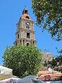 Rodi, moschea di solimano, campanile.JPG