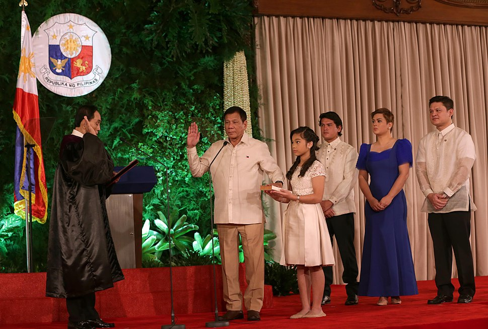 Rodrigo Duterte oath taking 6.30.16
