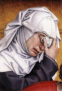 Rogier van der Weyden - Deposition (detail) - WGA25578.jpg