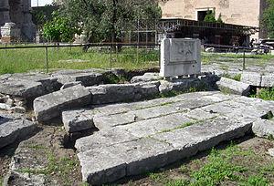 Lacus Curtius - The Lacus Curtius today