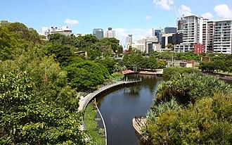 Roma Street Parkland - Image: Roma Street Parklands, Brisbane (3365542717)