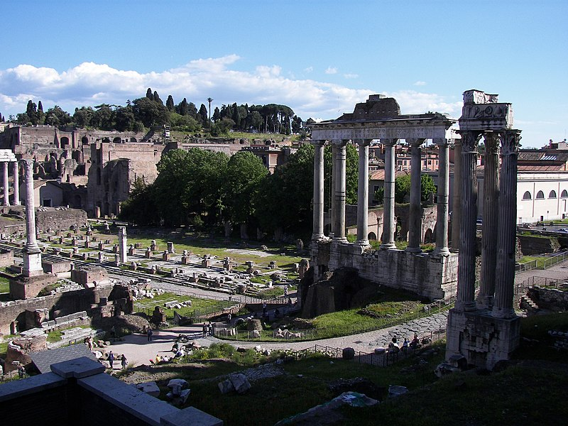 Roman Forum from northwest 3.jpg