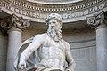 Rome, Italy, Neptune (Ocean) of Fontana di Trevi 2.jpg