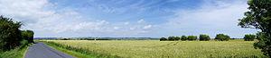 Romney Marsh - View across the marsh from just outside Dymchurch