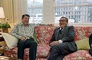 Ronald Reagan and Henry Kissinger