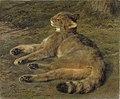 Rosa Bonheur - Wild Cat (1850).jpg