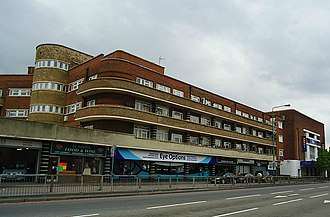 Rosehill, London - Image: Rose Hill flats North, from geograph.co.uk