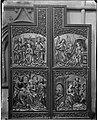 """Rosengarten evangelische Marienkirche Hochaltar um 1510 Darstellung """"Verkündigung, Christis Geburt, Anbetung der Heiligen drei Könige, Marienkrönung"""".jpg"""