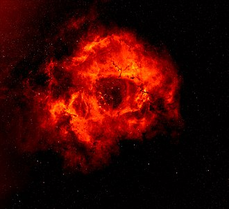 Rosette Nebula - Image: Rosette nebula s