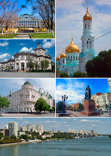 Rostov-on-Don City in Rostov Oblast, Russia