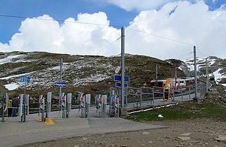 Rotenboden railway station - Image: Rotenboden railway station