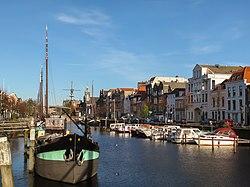 Rotterdam-Delfshaven, havenzicht1 foto12 2011-01-09 12.51.JPG