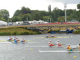 Rowing at the 2012 Summer Olympics – Men's coxless pair Final A (4).JPG