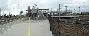 Roxburgh Park railway station - Image: Roxburgh Park railway station, Melbourne, street view