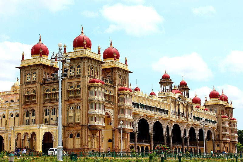 File:Royal Mysore Palace view.jpg