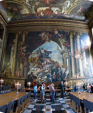 James Thornhill - West wall, Painted Hall, Greenwich