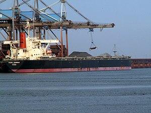 Rubin Phoenix Rubin Phoenix - IMO 9146584 - Callsign 3FFT7 , Port of Rotterdam, Holland 25-Jun-2006.jpg