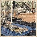 Rudolf Kalvach (Austrian, 1883-1932), Boats in the harbour of Trieste, c. 1908.jpg
